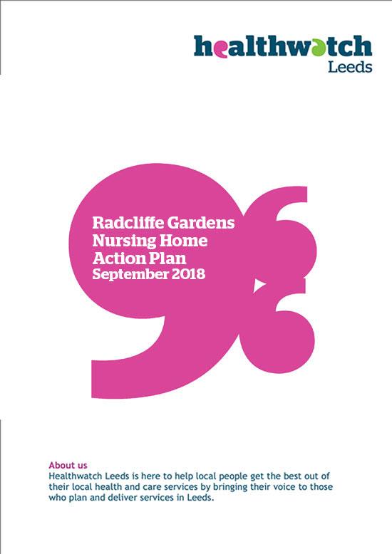 Radcliffe Gardens Action Plan